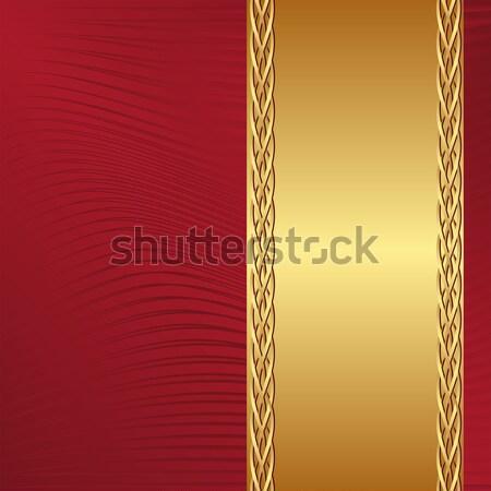 red and ecru background Stock photo © mtmmarek