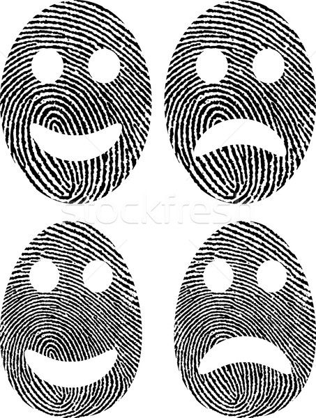 fingerprint Stock photo © mtmmarek