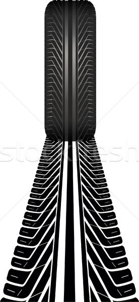 tire track Stock photo © mtmmarek