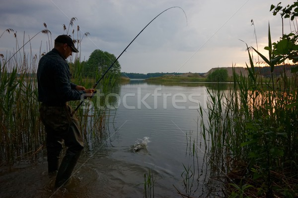 Stock photo: Fisherman