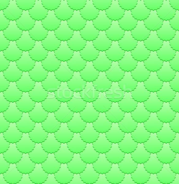 зеленый шаблон бесшовный фон Vintage Label Сток-фото © mtmmarek