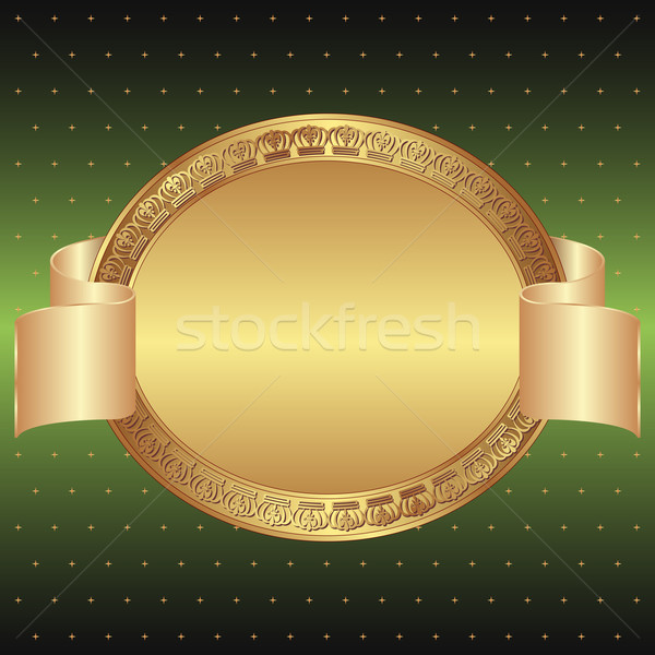 green and gold background Stock photo © mtmmarek