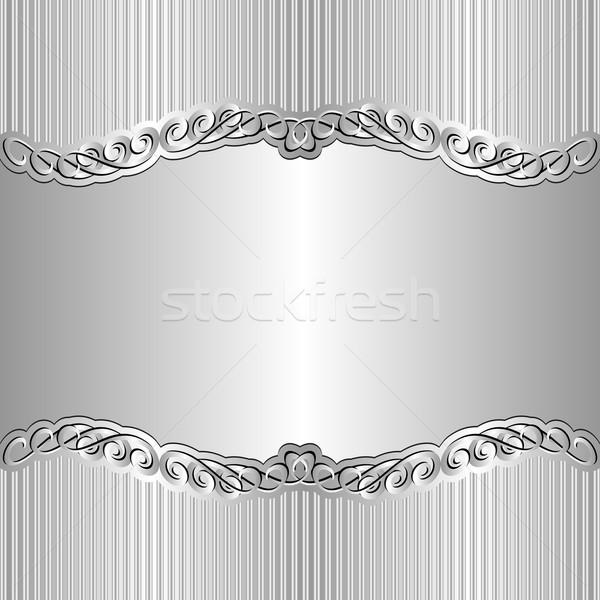 Сток-фото: серебро · украшения · аннотация · свет · пространстве · ретро