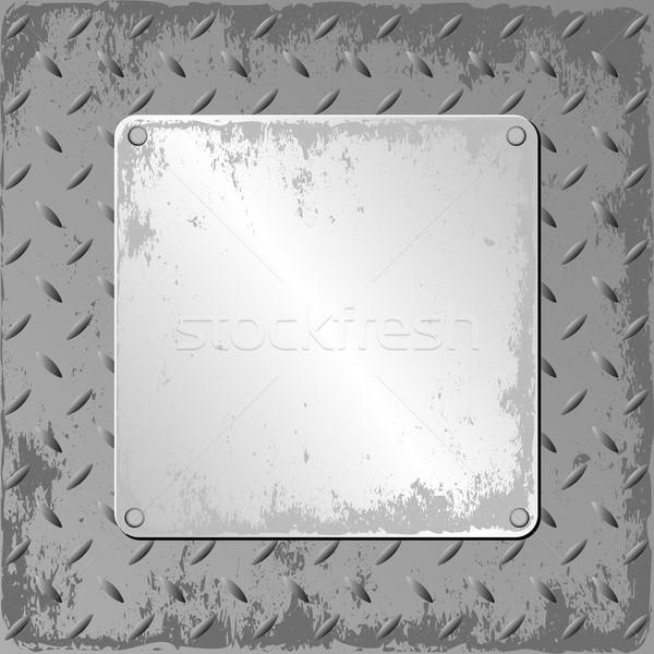 Гранж стали лист металл текстуры Сток-фото © mtmmarek