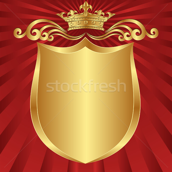 Stock photo: background  crown
