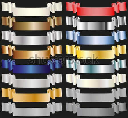 colored tapes Stock photo © mtmmarek