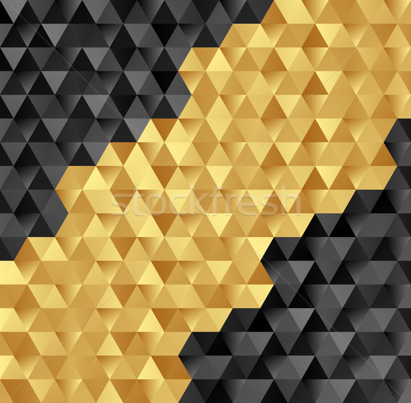 textur gold schwarz abstrakten hintergrund muster vektor grafiken marek. Black Bedroom Furniture Sets. Home Design Ideas
