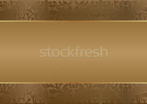 Bruin exemplaar ruimte textuur achtergrond metaal ruimte Stockfoto © mtmmarek