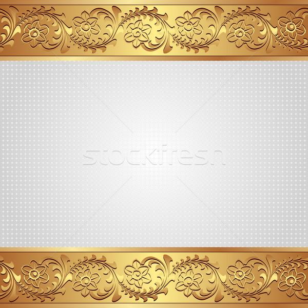 белый украшения текстуры аннотация фон Сток-фото © mtmmarek