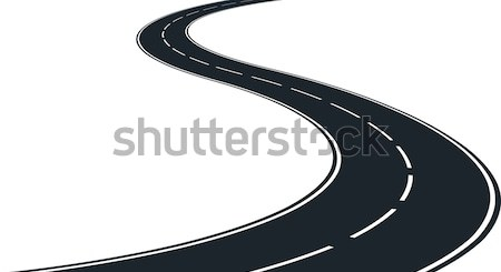 winding road Stock photo © mtmmarek