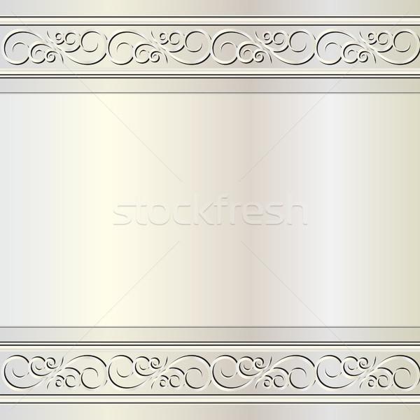 Glamour ornements résumé lumière design rétro Photo stock © mtmmarek