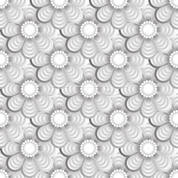 Fleur design wallpaper modernes illustration Photo stock © mtmmarek
