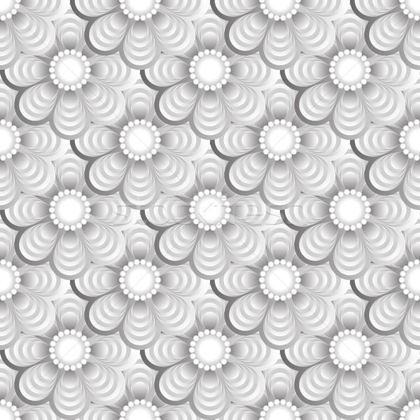 Virág végtelen minta terv tapéta modern illusztráció Stock fotó © mtmmarek
