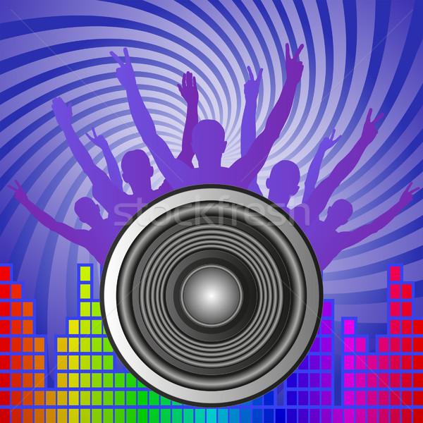 music background Stock photo © mtmmarek