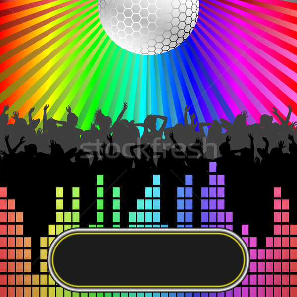 party background Stock photo © mtmmarek