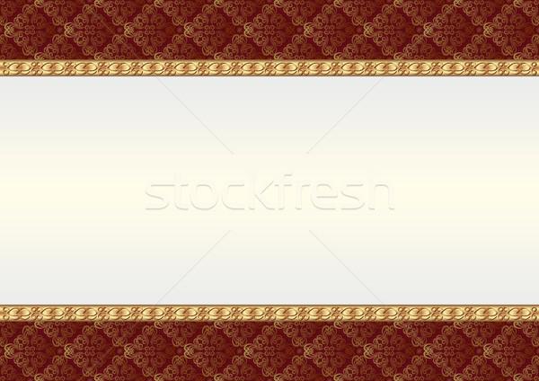 декоративный украшения Vintage шаблон Сток-фото © mtmmarek