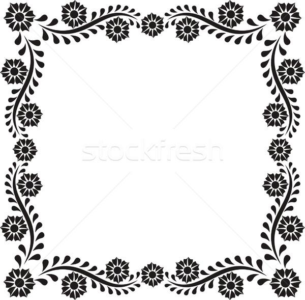 flowers frame Stock photo © mtmmarek