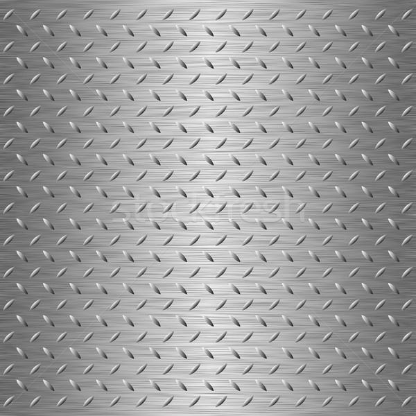 Metaliczny tekstury stali arkusza projektu technologii Zdjęcia stock © mtmmarek