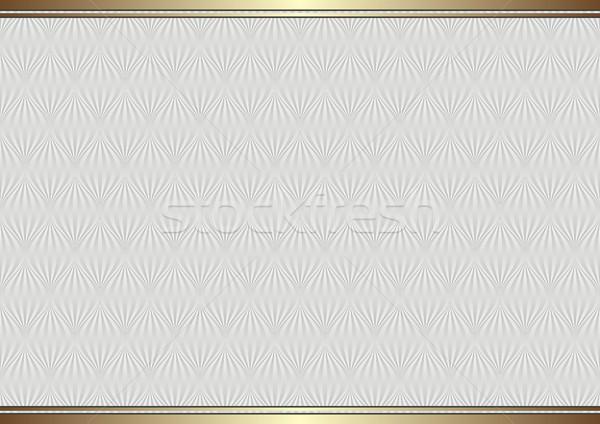 Klasszikus dekoratív minta arany keret terv Stock fotó © mtmmarek