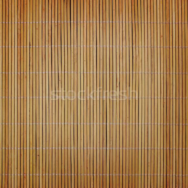 bamboo mat Stock photo © mtmmarek
