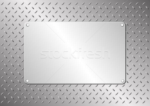 Fém fogkő acél lap textúra technológia Stock fotó © mtmmarek