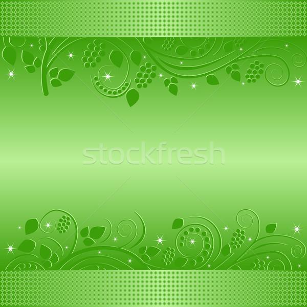 green background Stock photo © mtmmarek
