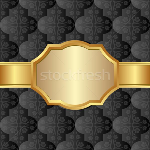 кадр фон золото карт Сток-фото © mtmmarek