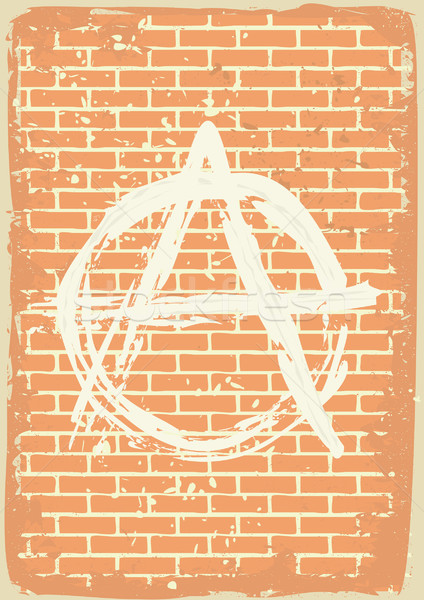 anarchy sign Stock photo © mtmmarek