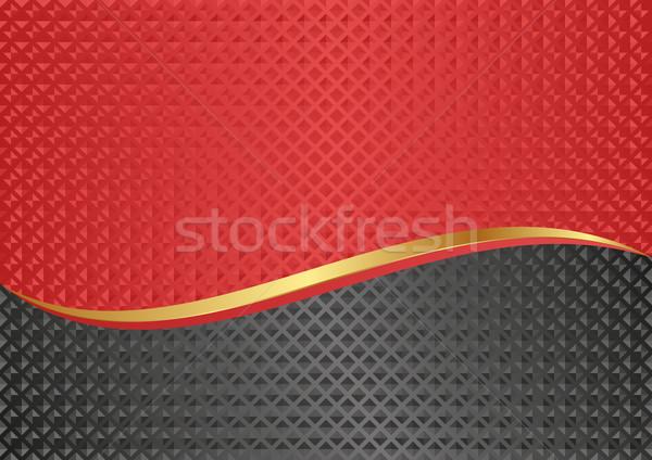 аннотация текстуры красный карт графических современных Сток-фото © mtmmarek