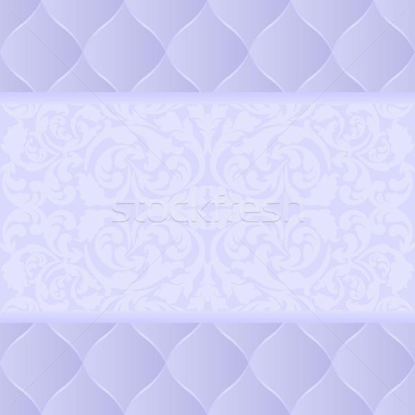 Luz azul ornamento luz azul padrão gráfico Foto stock © mtmmarek