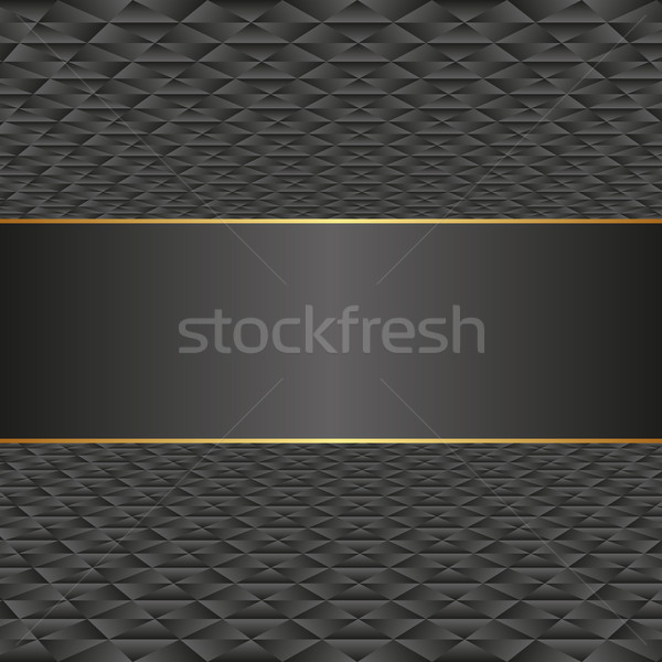 черный шаблон аннотация перспективы границе вектора Сток-фото © mtmmarek