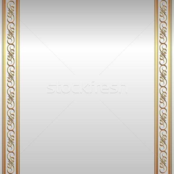 Gümüş altın süsler doku soyut arka plan Stok fotoğraf © mtmmarek