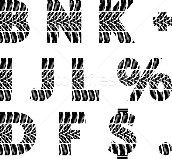шин трек шрифт шоссе скорости черный Сток-фото © mtmmarek