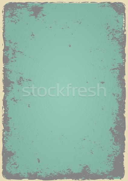 Oude vernietigd grijs papier textuur ontwerp Stockfoto © mtmmarek