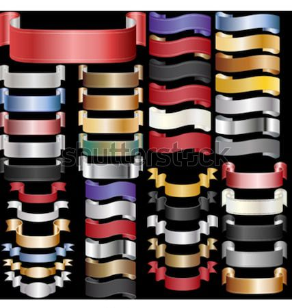 ribbons scroll tapes Stock photo © mtmmarek