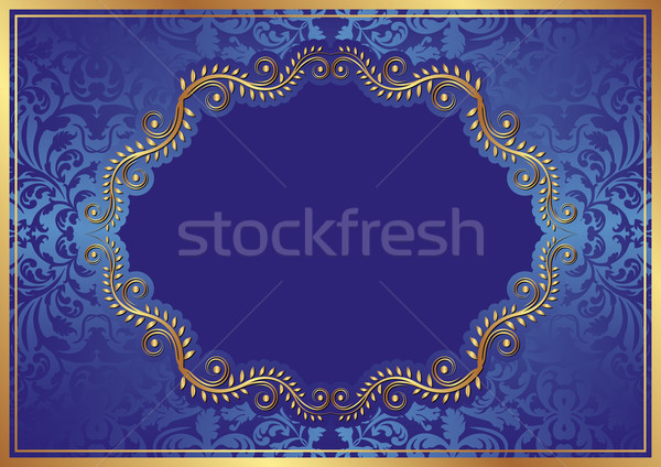 blue background Stock photo © mtmmarek