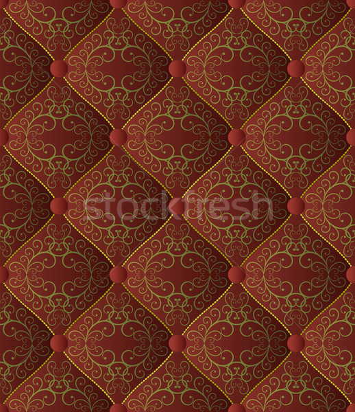 Buttoned on the brown Texture Stock photo © mtmmarek
