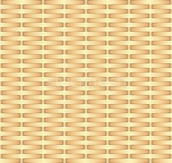 Fonott végtelen minta háttér minta kosár grafikus Stock fotó © mtmmarek