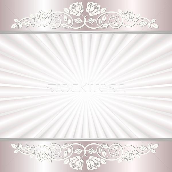 ストックフォト: 光 · フローラル · バラ · 背景 · スペース