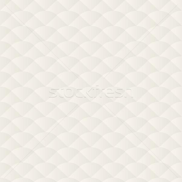 Neutralny kremowy wzór bezszwowy streszczenie fali Zdjęcia stock © mtmmarek