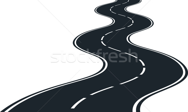 Road curves Stock photo © mtmmarek