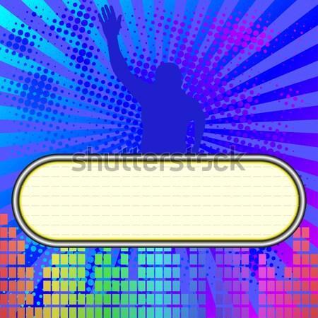 Сток-фото: дискотеку · Dance · музыку · копия · пространства · вечеринка · аннотация