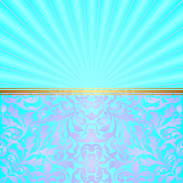 turquoise background Stock photo © mtmmarek