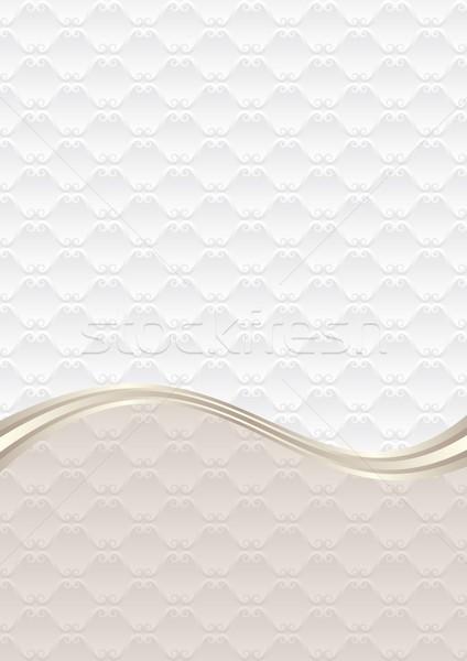 Háttér dekoratív minta textúra fehér antik Stock fotó © mtmmarek