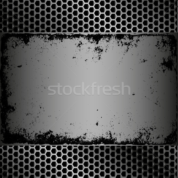 grunge plaque Stock photo © mtmmarek