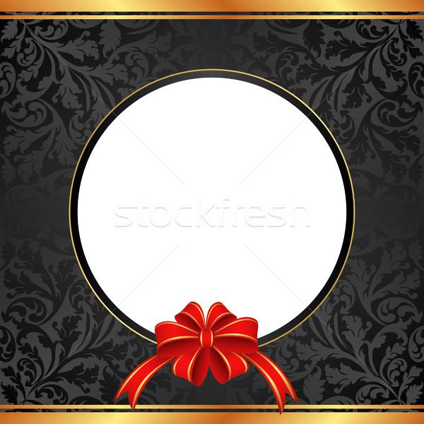 Foto d'archivio: Nero · regalo · arco · presenti · trasparente · spazio