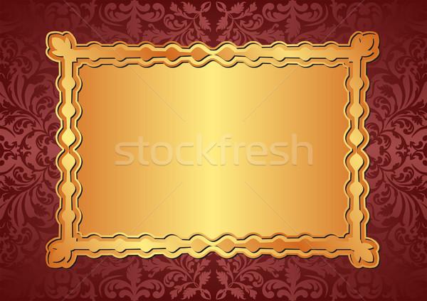 gold background Stock photo © mtmmarek