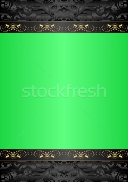 green background Stock photo © mtmmarek