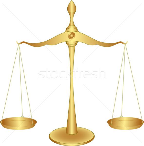 баланса металл правосудия веса темам Сток-фото © mtmmarek