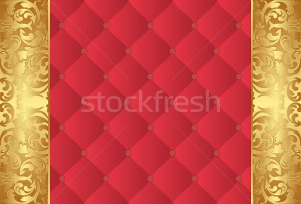красный Vintage украшения текстуры дизайна Сток-фото © mtmmarek
